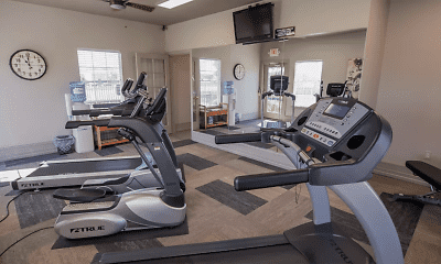 Fitness Weight Room, The Remington, 2