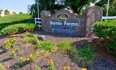 Community Signage, Barton Farms Apartments And Duplexes, 2