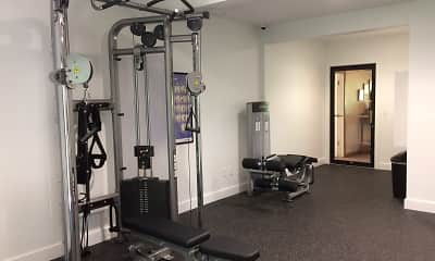 Fitness Weight Room, Southwind Apartments, 2