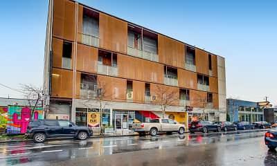 Building, eco Flats, 2