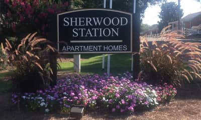 Community Signage, Sherwood Station, 2