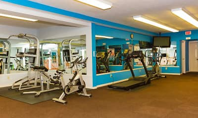 Fitness Weight Room, WoodSpring, 2