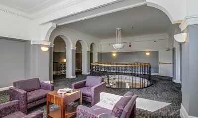 Foyer, Entryway, Kensington Tower, 2