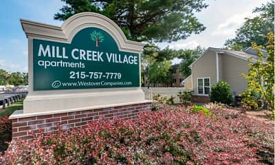 Community Signage, Mill Creek Village, 0