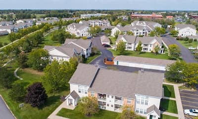 view of drone / aerial view, Windsong Place Apartments, 2