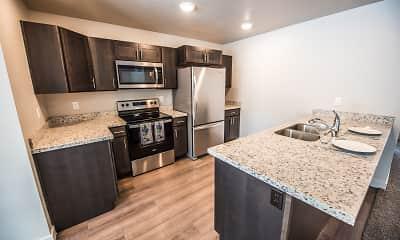 Kitchen, Millcreek Cove, 1