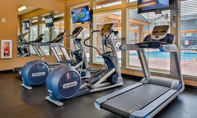Fitness Weight Room, The Vantage, 1