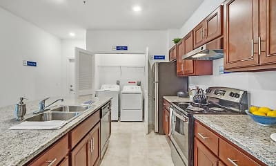 Kitchen, Clyde Morris Landings Apartment Homes, 2