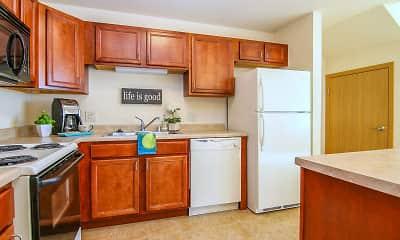 Kitchen, Prairie Ridge, 1
