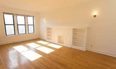 Living Room, 5053 Ellis Avenue, 0