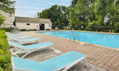 Pool, Hillcroft Village, 2