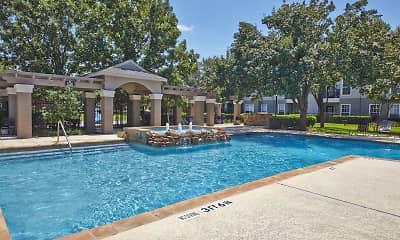 Pool, Oak Forest, 1
