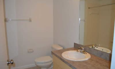 Bathroom, Grand Oaks Apartments of NSB, 2