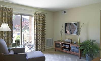 Living Room, Foxborough Estates, 1