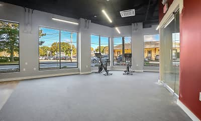 Fitness Weight Room, The Metropolitan at Reading Station, 2