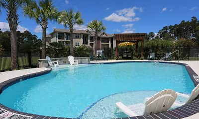 Pool, Shadow Creek Apartments, 0