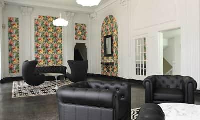 Foyer, Entryway, Oakland Apartments, 1