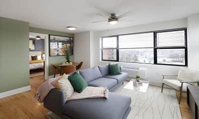 Living Room, Rittenhouse Hill, 0