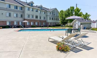 Pool, Compass Villa- Senior Living, 1