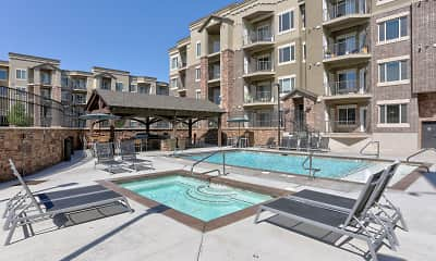 Pool, Jordan Station Apartments, 0