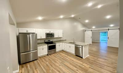 Kitchen, Chestnut Crossing, 1