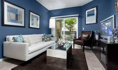 Living Room, Avalon Warner Place, 0