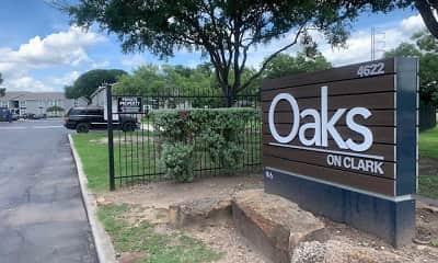 Community Signage, Oaks on Clark, 0