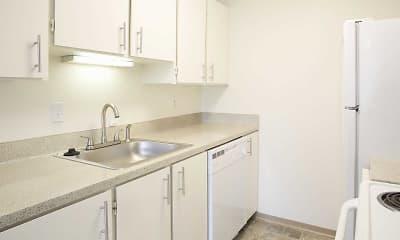 Kitchen, Park Ballinger Apartments, 1