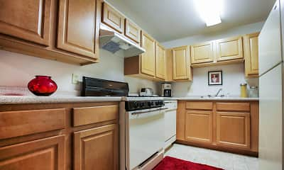 Kitchen, Canterbury Apartments, 1