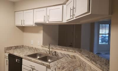 Kitchen, Grove at River Place, 2