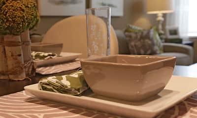 Dining Room, Falcon Trace Senior Apartments, 1