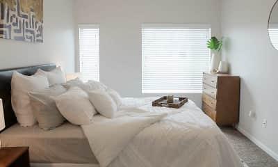 Bedroom, Nichol Flats, 1