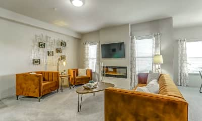 Living Room, Stonehorse Crossing, 1