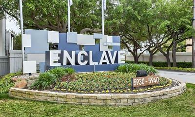 Community Signage, The Enclave at Prestonwood, 0
