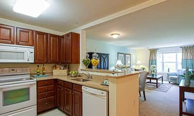 Kitchen, Chestnut Oaks, 1