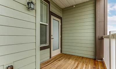 Patio / Deck, Sierra Ridge Apartments, 2