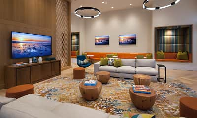 Living Room, Westview at Irvine Spectrum, 2