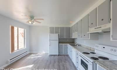 Kitchen, Del Coronado Apartments, 0