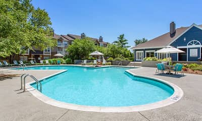 Pool, Steeplechase Apartments, 0