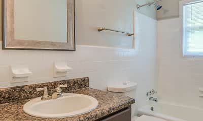 Bathroom, The Flats at 1204, 2