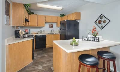 Kitchen, Birch Landing Atlanta Apartments, 0