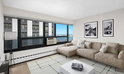 Living Room, 3130 N Lake Shore Drive, 0