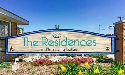 Community Signage, Residences at Merrillville Lakes, 2