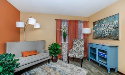 Living Room, Coronado Apartments, 0