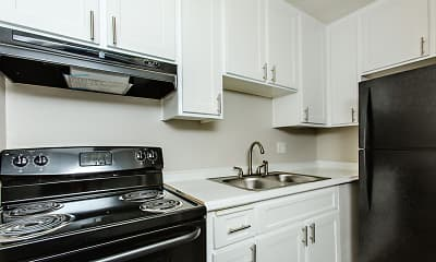 Kitchen, Surfcaster Apartments, 0