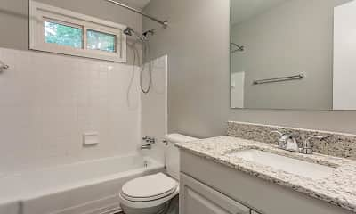 Bathroom, Ponderosa Apartments, 2