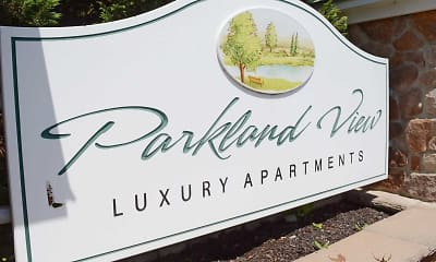 Community Signage, Parkland View Apartments, 2