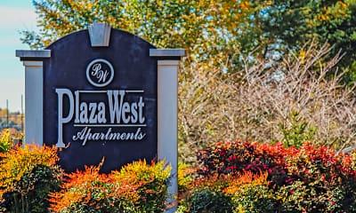 Community Signage, Plaza West, 2