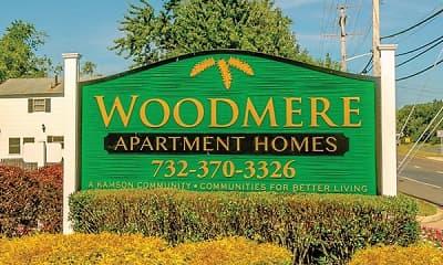 Community Signage, Woodmere Apartments, 0