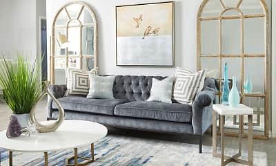 Living Room, Evergreen at Aubrey's Landing, 0